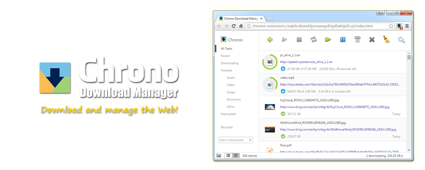 Chrono Download Manager